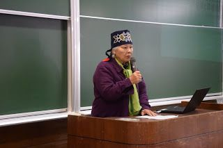 Ainu Keynote Speakers: Shizue Ukaji